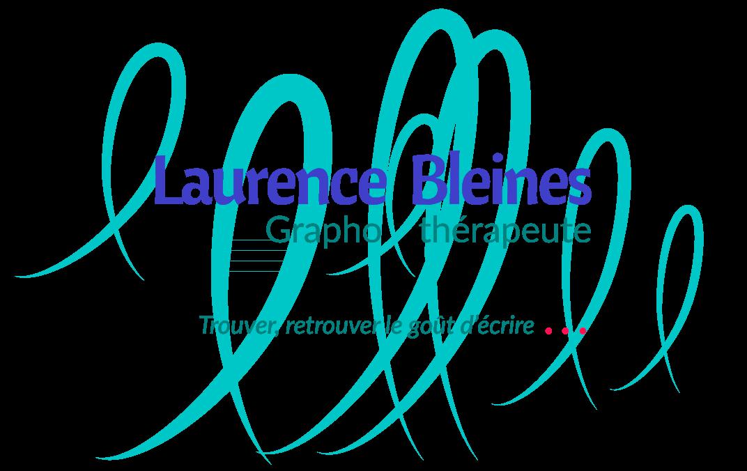 Laurence Bleines graphothérapeute et rééducatrice de l'écriture. Trouver, retrouver le goût d'écrire